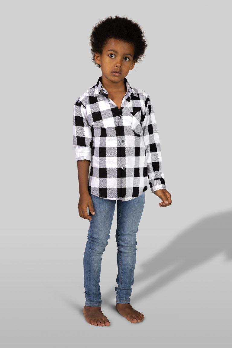 koszula flanelowa dziecięca